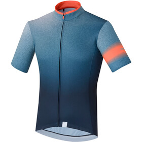 Shimano Mirror Cool Maillot Manches courtes Homme, navy